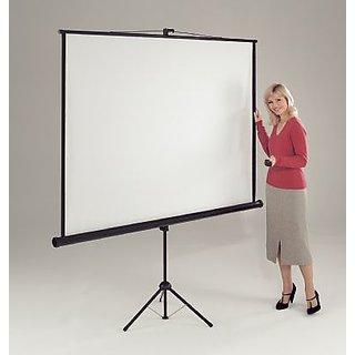 Alfa I Series Tripod Projector Screen Size 5 Feet X 7 Feet A++++