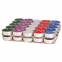 50 Pcs Tealight Candle- ( Multicolor )
