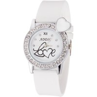 LADI NEW Analogue White Dial Watch For Women, Girls