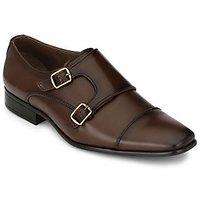 Afrojack Men'S Old Monk Strap Formal Shoes