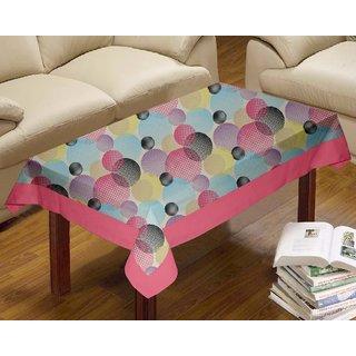 Lushomes Circles Printed Centre Table Cloth