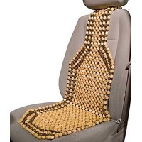 Wooden Car Beads Premium Quality Car Wooden Bead Seat Cover For - ALL Car -1 Pc