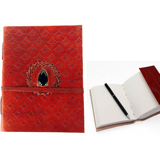 Handmade Dark Buffalo Leather Diary Journals Notebook,Diary,Lokta Paper Diary