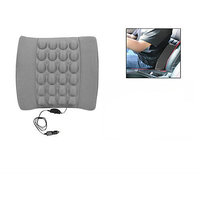 Seat Vibrating Massage Cushion Grey Colour For All Cars
