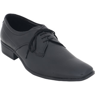 Claude Lorrain Formal Black Lace Up Shoes