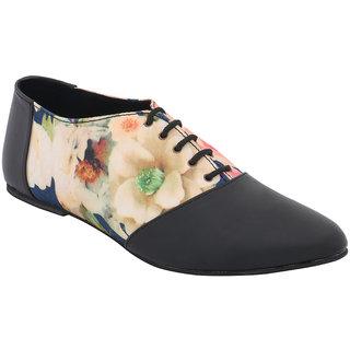 Claude Lorrain Women's Black Smart Casuals Shoes