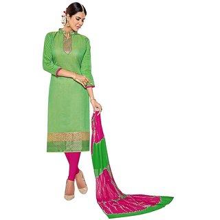 Women'S Silk Salwar Suit Dress Material With Dupatta