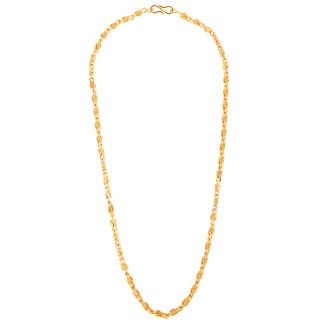Gold Plated Wedding/Festive wear 24 inches long Chain for Men/Boys by GoldNera