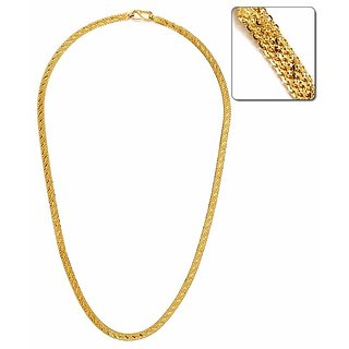 05fcd08fd2c Buy Xoonic's New Design Statement Gold plated Rope Chain 3mm thick ...