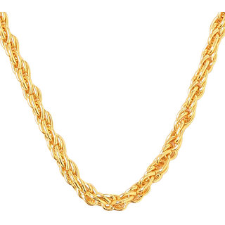 Charms Dipali Gold Plated Alloy Casual Chain for Men
