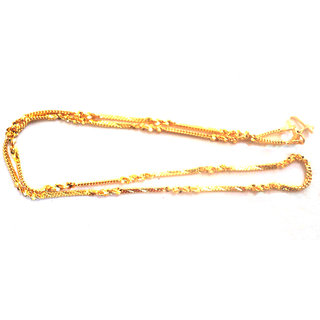 Dipali Gold Plated Alloy Chain