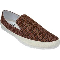 Morocco Men's  Brown And Black Slip On Casual Shoes