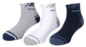 Sport Ankle Length Socks (Pack Of 3)