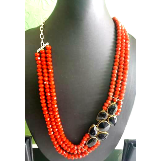 Western Handmade Designer Necklace Set With Earring Very Beautiful