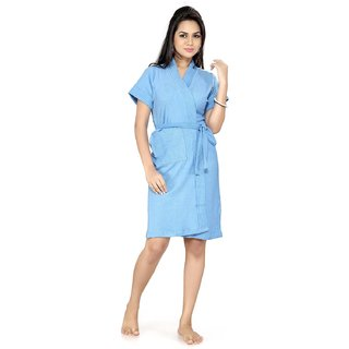 Imported Cotton Elegant Women's Bathrobe (DSKy)