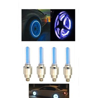 Car Tyre Led Light With Motion Sensor For Hyundai Verna Fludic