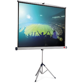 Fine O Series Tripod Projector Screen Size 5 Feet X 7 Feet A++++