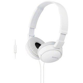 SONY MDR ZX110 WHITE  1 YEAR SONY INDIA WARRANTY Headphones   Earphones