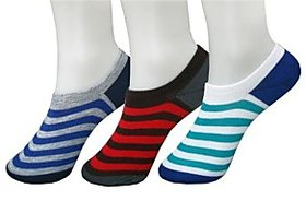 Loafer Mens No Show Socks-3 pairs