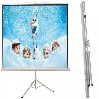 fine J Series Tripod Projector Screen Size 8 Feet X 6 Feet A++++
