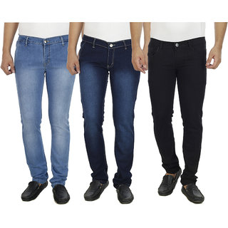 By The Way Multicolored Men's Jeans
