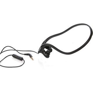 Hangout MY SOUND SPORTS Back Neck STEREO HEADSPHONES-HSR-54-BLACK