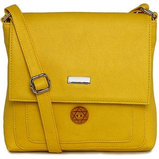 ESBEDA WHITE color Solid women's slingbag