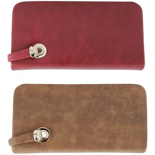 Urban Gypsys' Quirky Ladies Wallets- Pack of 2 UGLCCOMBO21