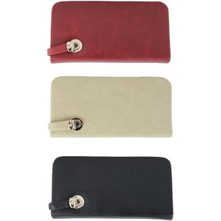 Urban Gypsys' Quirky Ladies Wallets- Pack of 3 UGLCCOMBO24