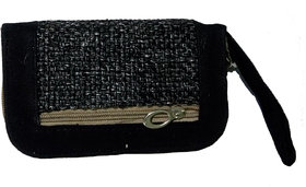 Exclusive Small Black Handbag With Beautiful Design For