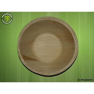 5 Round Areca Bowl