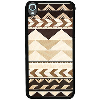 ifasho Triangular Pattern Back Case Cover for HTC Desire 820
