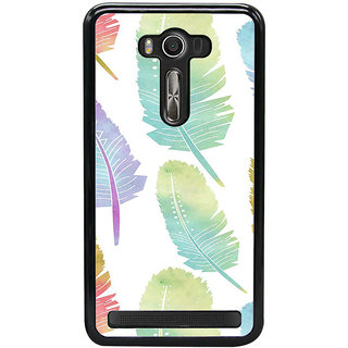 ifasho Animated  Feather Back Case Cover for Asus Zenfone Selfie