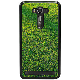 ifasho Animated Pattern grass Back Case Cover for Asus Zenfone Selfie
