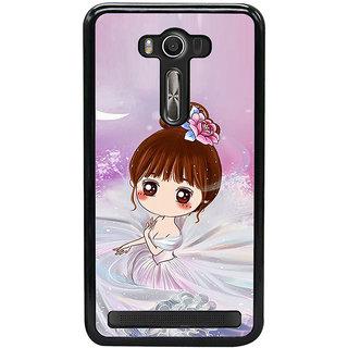 ifasho Princess Girl Back Case Cover for Asus Zenfone2 Laser ZE 550KL
