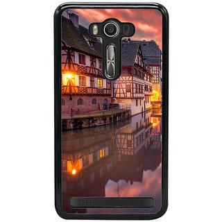 ifasho Venice City Back Case Cover for Asus Zenfone2 Laser ZE 550KL