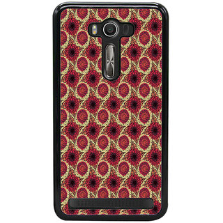 ifasho Animated Pattern design flower with leaves Back Case Cover for Asus Zenfone Selfie