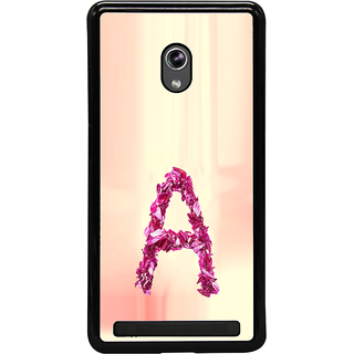 ifasho alphabet name series A Back Case Cover for Asus Zenfone 6