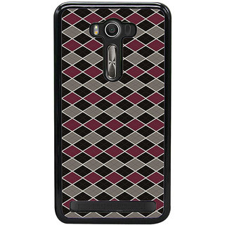 ifasho Animated Pattern of Chevron Arrows royal style Back Case Cover for Asus Zenfone2 Laser ZE 550KL