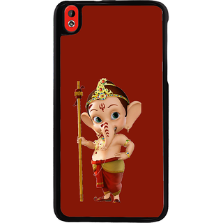 ifasho Modern Art Ganesh Back Case Cover for HTC Desire 816