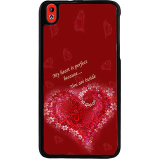 ifasho Love Quotes for love Back Case Cover for HTC Desire 816