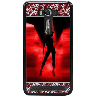 ifasho Girl dancing Back Case Cover for Asus Zenfone Selfie