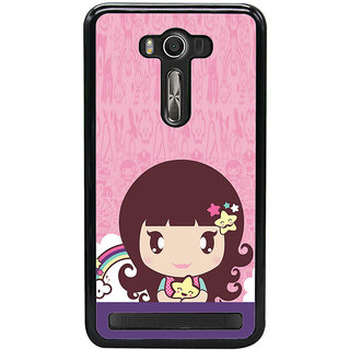 ifasho Cute Baby Back Case Cover for Asus Zenfone Selfie