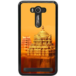 ifasho Tirupati Balaji Temple Back Case Cover for Asus Zenfone2 Laser ZE 500KL