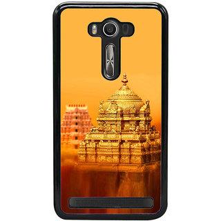 ifasho Tirupati Balaji Temple Back Case Cover for Asus Zenfone Selfie