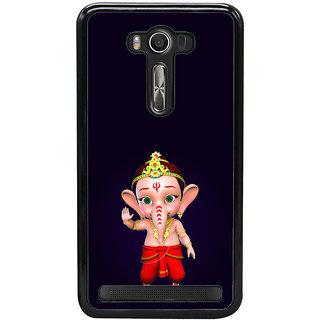 ifasho Modern Art Ganesh Back Case Cover for Asus Zenfone2 Laser ZE 500KL