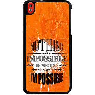 ifasho Good Quote on Achivement Back Case Cover for HTC Desire 816