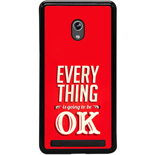 ifasho everything will be ok quotes Back Case Cover for Asus Zenfone 5
