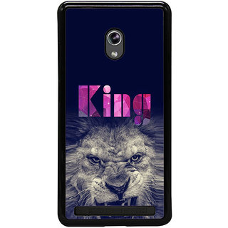 ifasho Angry Lion King Back Case Cover for Asus Zenfone 5