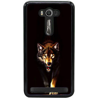 ifasho Angry Wolf Back Case Cover for Asus Zenfone2 Laser ZE 500KL